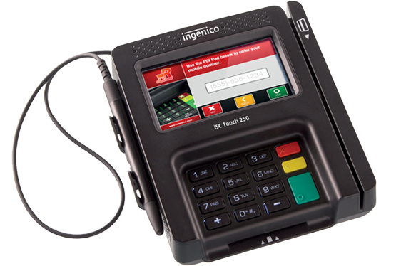 Ingenico Group iSC Touch 250 EMV Pin Pad