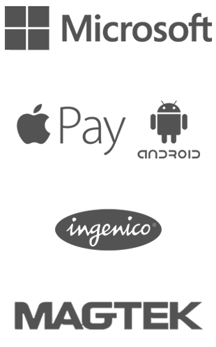 Microsoft, Apple Pay, Ingenico, Android and Magtek